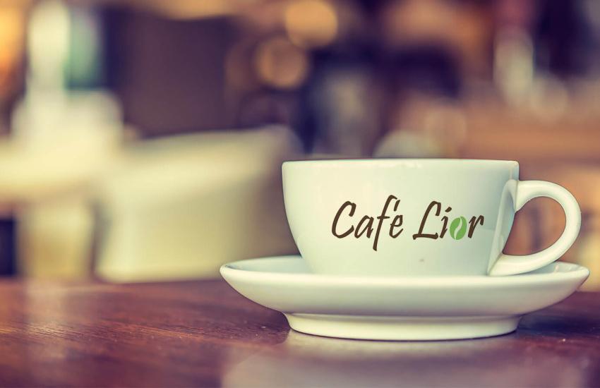 הדמיית כוס קפה